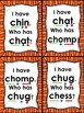 I Have... Who Has... ch digraph with short vowels Common C