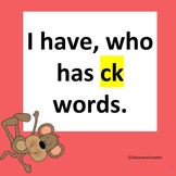 I Have, Who Has digraph CK game