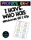 I Have, Who Has: diphthongs OI and OY