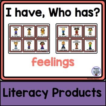 I Have, Who Has? - feelings
