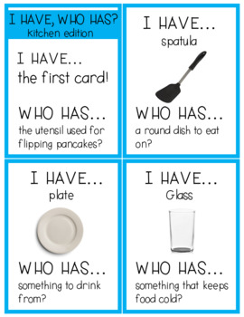 I Have, Who Has? for LIFE SKILLS {3 Game Sets}
