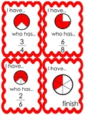 I Have Who Has (fractions)