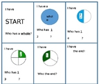 I Have Who Has fractions SUPER SIMPLE exit game