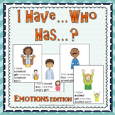 I Have Who Has? game Emotions Version