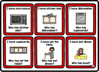 I Have, Who Has? - kitchen