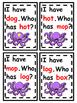 I Have...Who Has? /o/ CVC Cards