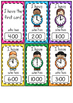 I Have, Who Has o'clock & half past game - FREEBIE