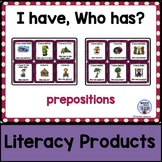 I Have, Who Has? - prepositions