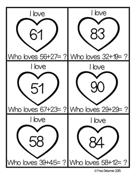 I Have...Who Loves? Adding {A Game for Adding Double Digits}