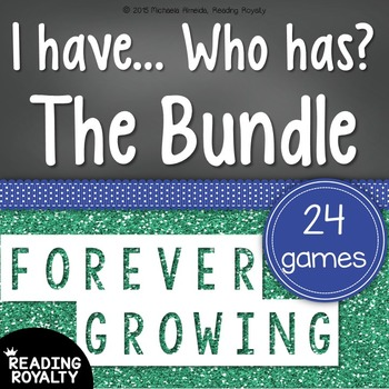 I Have, Who has? Forever Growing Bundle!