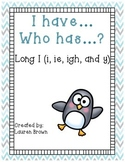 I Have... Who has...? Long i (i, ie, igh, and y)