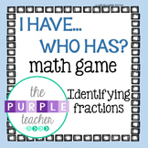 Identifying Fractions Math Game