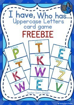I Have Who has Uppercase Letter Game