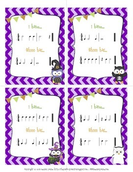I Have… Whooo Has? Owl-Themed Halloween Rhythm Game for Elementary Students