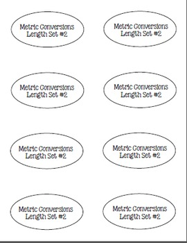 I Have, Whoooo Has? Metric Conversions for Volume, Length and Weight
