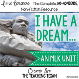 I Have a Dream: A Reading, Writing, and Science Martin Luther King, Jr. Unit