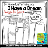 MLK: I Have a Dream Informative/Explanatory Writing Assignment