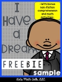 I Have a Dream Craftivity and More Sample Pack