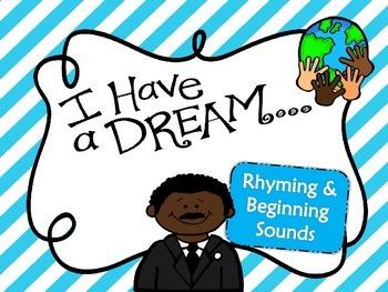 I Have a Dream Language Arts Games
