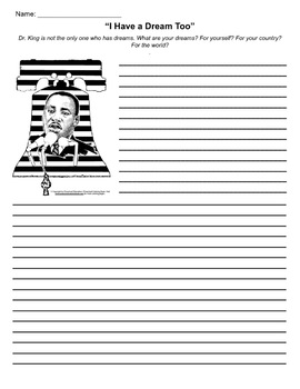 I Have a Dream - Martin Luther King Jr - Activity Pack