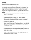 I Have a Dream - Martin Luther King Jr. Speech, Questions & Rubric