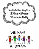 """I Have a Dream"" Wordle Activity"