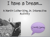 """""""I Have a Dream"""" - an Interactive Game for Martin Luther King, Jr. Day"""
