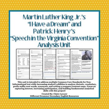 Martin luther king i have a dream speech analysis essay