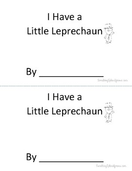 I Have a Little Leprechaun