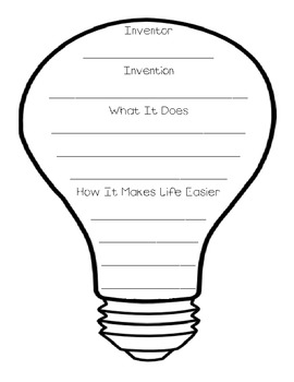 I Have an Idea - Invention Writing Prompt