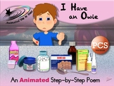 I Have an Owie - Animated Step-by-Step Poem - PCS
