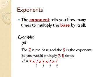 I Have the Power: Intro to Exponents