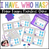 I Have…Who Has? Piano Game: Finger Numbers and Right & Left Hand