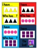 I Have...Who Has...? Game - Basic Shapes, Colors, and Sets