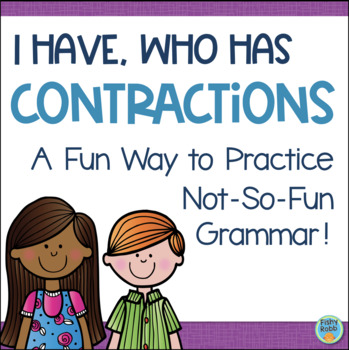 Contractions Game - I Have, Who Has