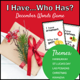 Christmas Around the World Word Game