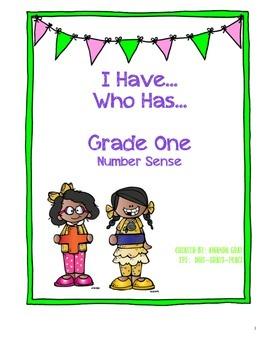 I Have...Who Has (Grade One Numeration)
