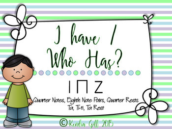 I Have / Who Has? - Ta, Ti-ti, Ta Rest