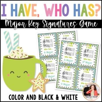I Have…Who Has? Major Key Signatures