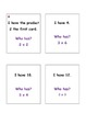 I Have...Who Has? - Multiplication Facts 2's & 3's (Double-Sided Cards)