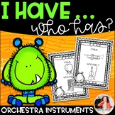 I Have…Who Has? Musical Instruments Game: Orchestra (Color & Ink-Friendly)