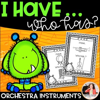 I Have…Who Has? Musical Instruments Game: Orchestra (Color