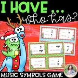 I Have…Who Has? Musical Symbols Game {Christmas Theme}