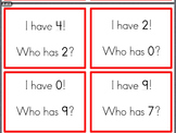 I Have...Who Has... (Number Game)