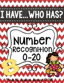 I Have, Who Has- Number Recognition 0-20