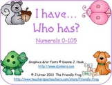 I Have.Who Has? Numerals 0-105