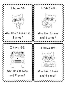 I Have...Who Has? Place Value