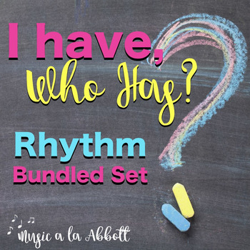 I Have/Who Has? Rhythm Game: Bundled Multiple Levels