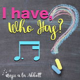 Music: I Have/Who Has? Rhythm Game: tim-ka