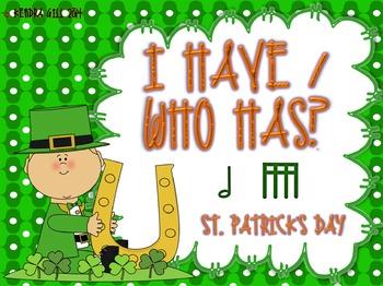 I Have / Who Has? St. Patrick's - Bundle!